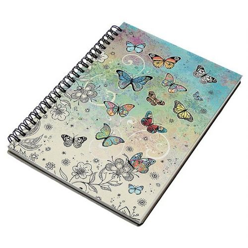 Bug Art Collection Butterfly A5 Notebook Pad